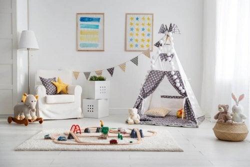 Idéer til et legeværelse til dine børn