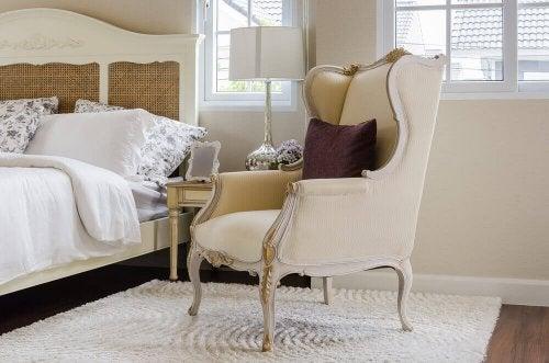 Klassiske stole og deres navne: Del 1