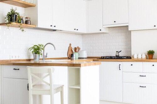 Et køkken uden køkkenapparater