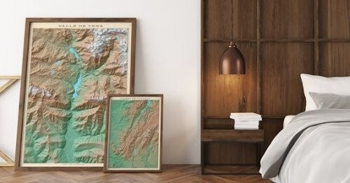 Lænende billeder til at udsmykke dine vægge