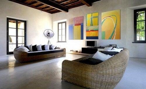 Moderne malerier kan skabe avantgarde raffinement