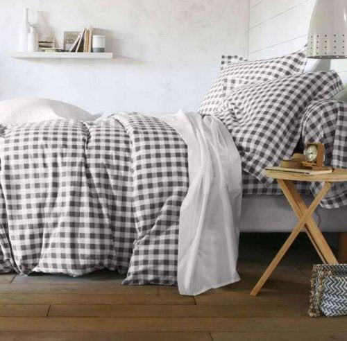 navne på mønstre til sengetøj