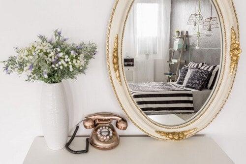 Sådan bruger du spejle i din indretning