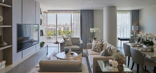 Paterson kombinerer den rustikke og luksuriøse stil
