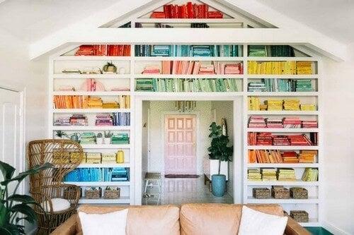 Skab dit eget personlige bibliotek, der går fra loft til gulv