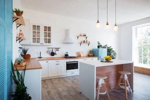 Køkkenindretning til næsten ingen penge