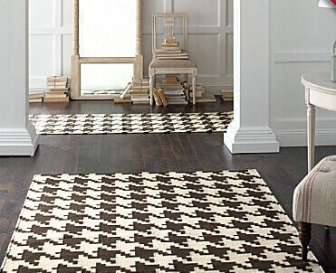 tæppe med mønster