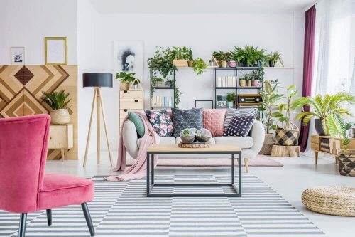Frihed i design med en boheme indretningsstil