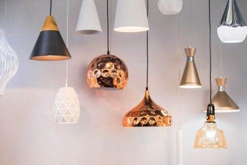 Lamper fra forskellige steder i verden: Stile og design