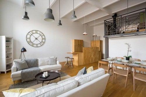 Behold hjemmets nuværende arkitektur