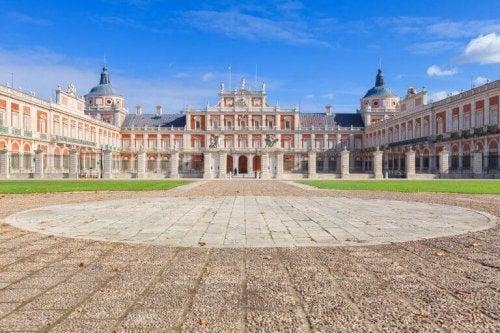 det royale palads i Aranjuez