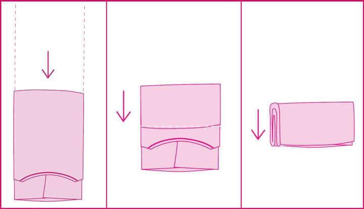 guide af Marie Kondo til at folde tøj