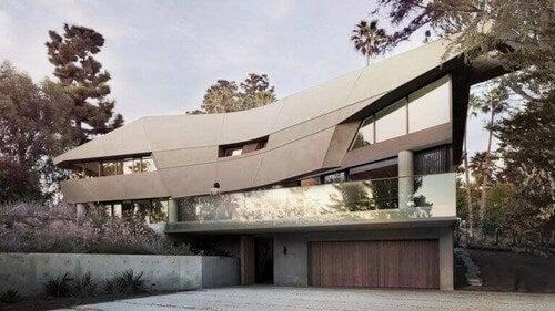 Hollywood Hill-huset er designet af Tighe