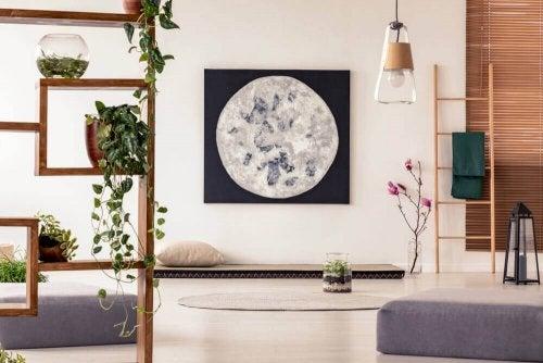 Japansk indendørs dekoration