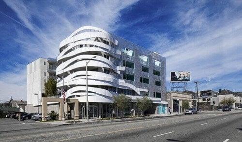 La Brea-bygningen designet af Patrick Tighe