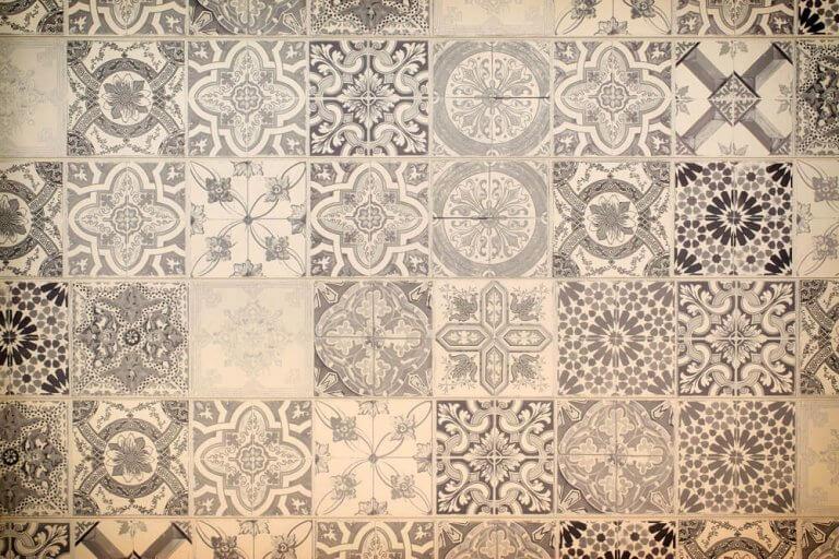 mønstre på et tæppe