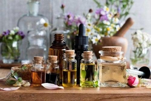 Et bredt udvalg af duftolier