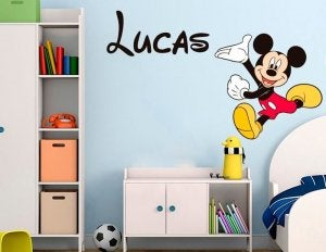 Mickey Mouse er altid et hit