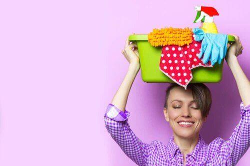 Hvor ofte bør du rengøre rummene i dit hjem?