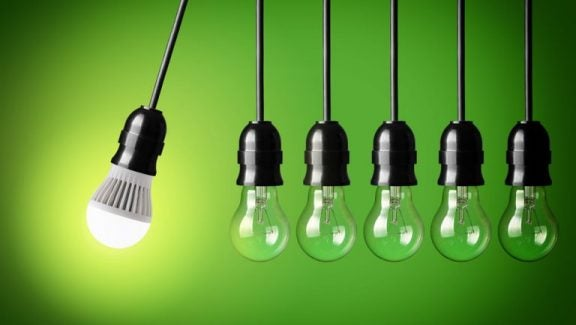 LED-pære er mere energieffektive end nogen anden pære på markedet.