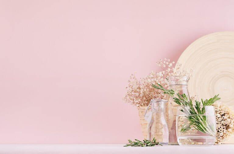 accessories i rosa farver