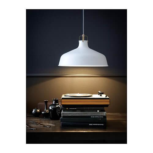 en af de 5 typer af lamper fra IKEA