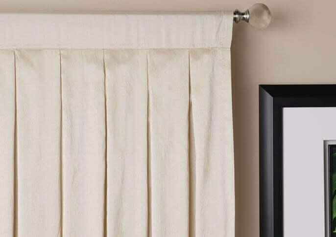 fold på gardiner