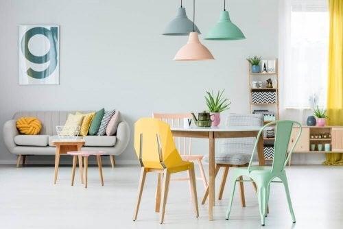 Glad indretning: Et smukt hjem er lig med et sundt sind