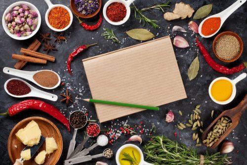ingredienser til brug i køkkenmaskiner
