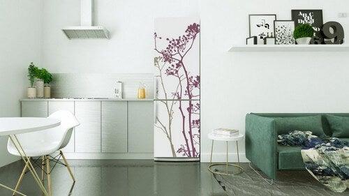 Udsmyk dit køleskab med vinylklistermærker