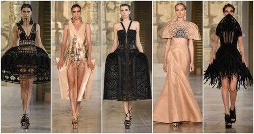 Modekollektioner inspireret af bygninger