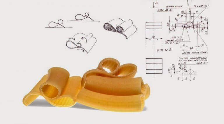 pasta designet af Giorgetto Giugiaro