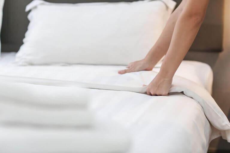 rengøring af rummene i dit hjem
