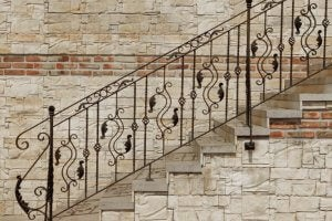 trappegelændere af smedejern