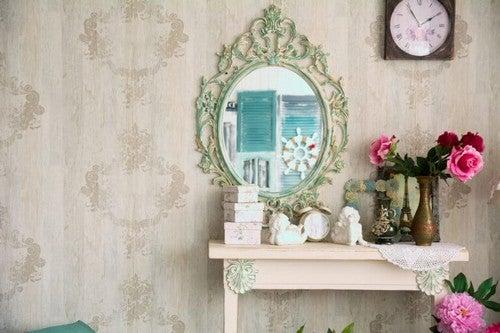 Spejle er vigtige i Feng Shui