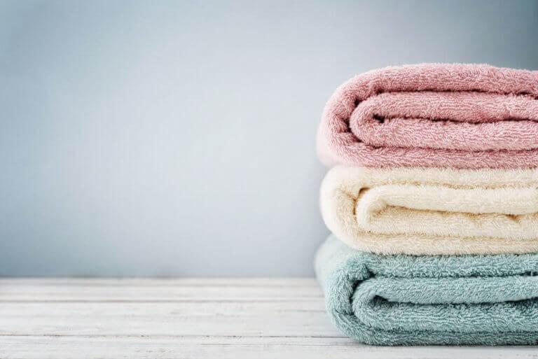 stablede håndklæder