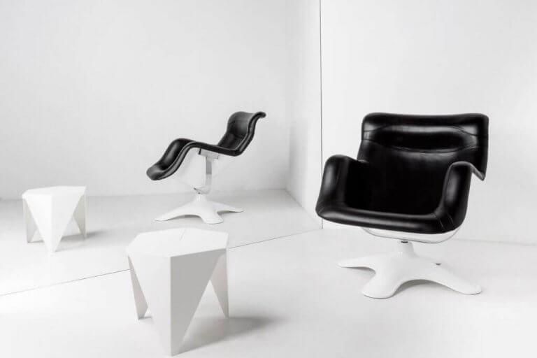 Karuselli-stolen - komfortabel og formel
