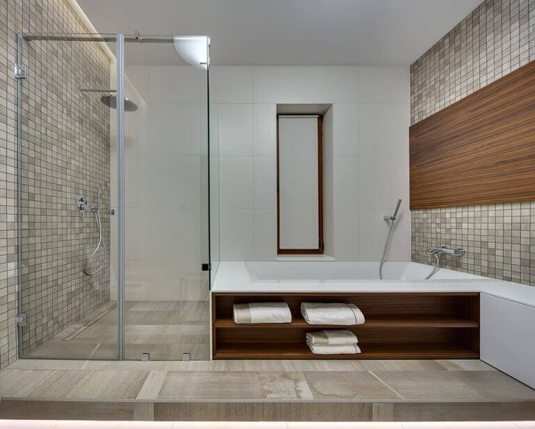 afslappende badeværelse
