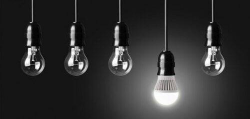 Forskellige typer af belysning