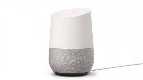 Højtaler, der hedder Google Home