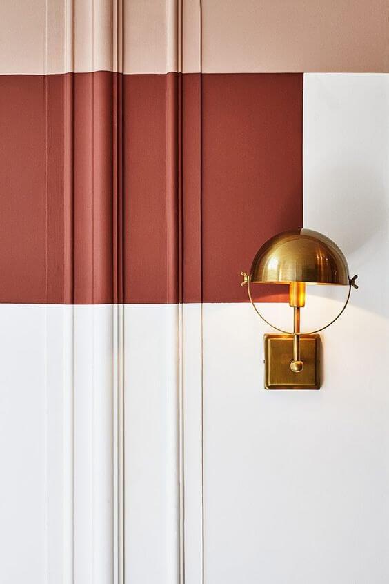 kontraster i dit hjem med forskellige farver på væggen