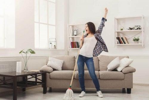 20/10-metoden til et pænt og rent hus