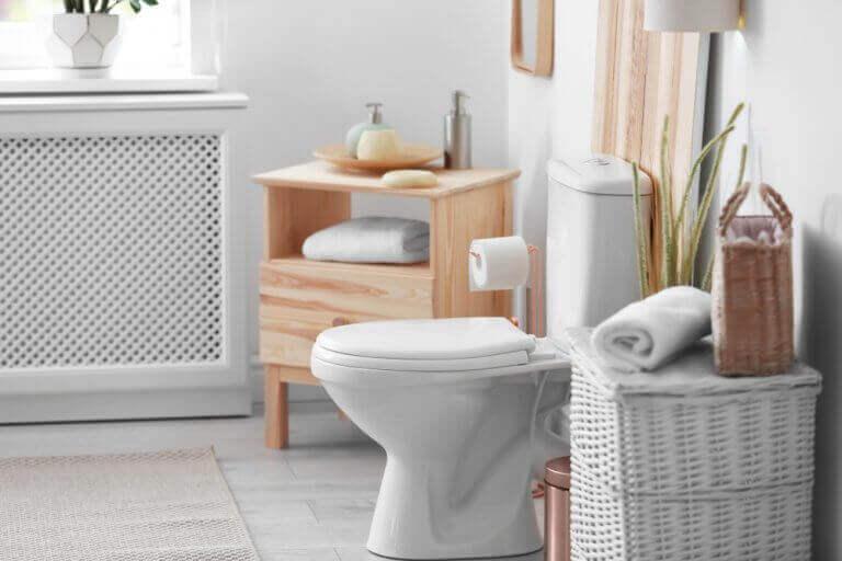 møbler på badeværelse