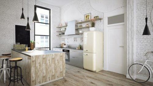 Sådan giver du dit køkken et naturligt look