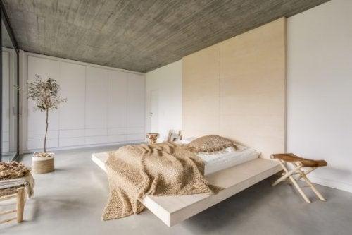 sandfarver i soveværelse