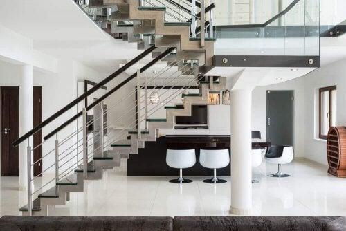 De bedste idéer til at dekorere din trappe