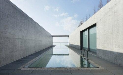 Den rolige arkitektur af Tadao Ando