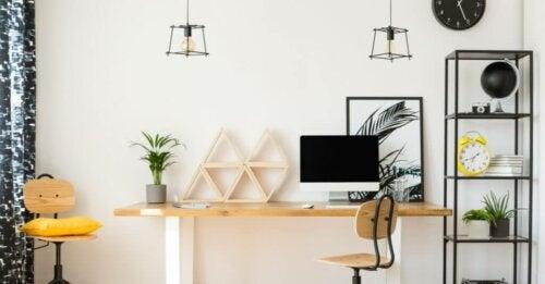Hvordan du kan indrette dit hjemmekontor