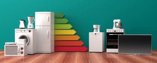 forskellige husholdningsapparater til dit hjem
