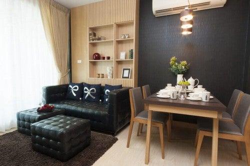 Lille stue med spiseområde